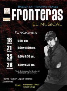 fronteras poster